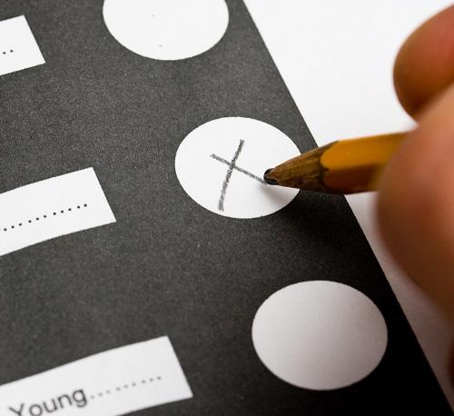 marked ballot